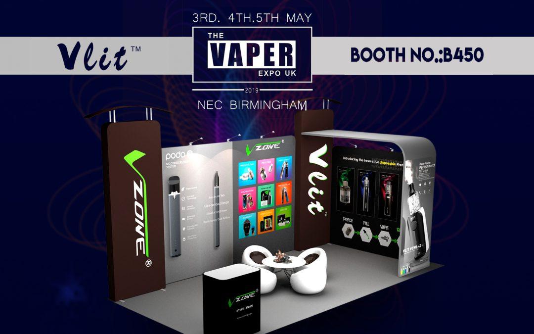 THE VAPER EXPO UK, 3th-5th, MAY , 2019