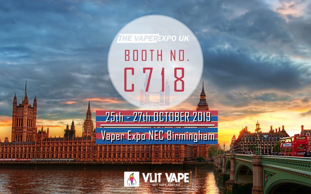 Vaper Expo NEC Birmingham 25th-27th OCT. 2019
