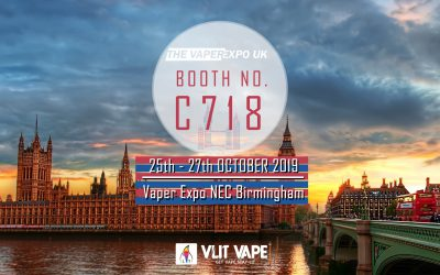 Vaper Expo NEC Birmingham 25th-27th OCT. 2019