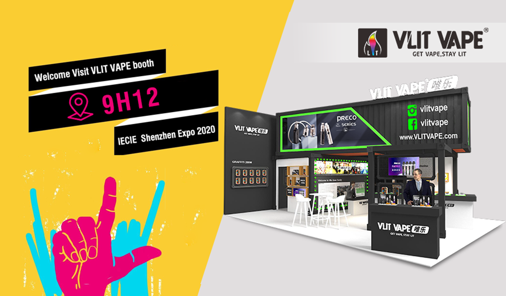 Shenzhen IECIE Ecig Expo Invitation